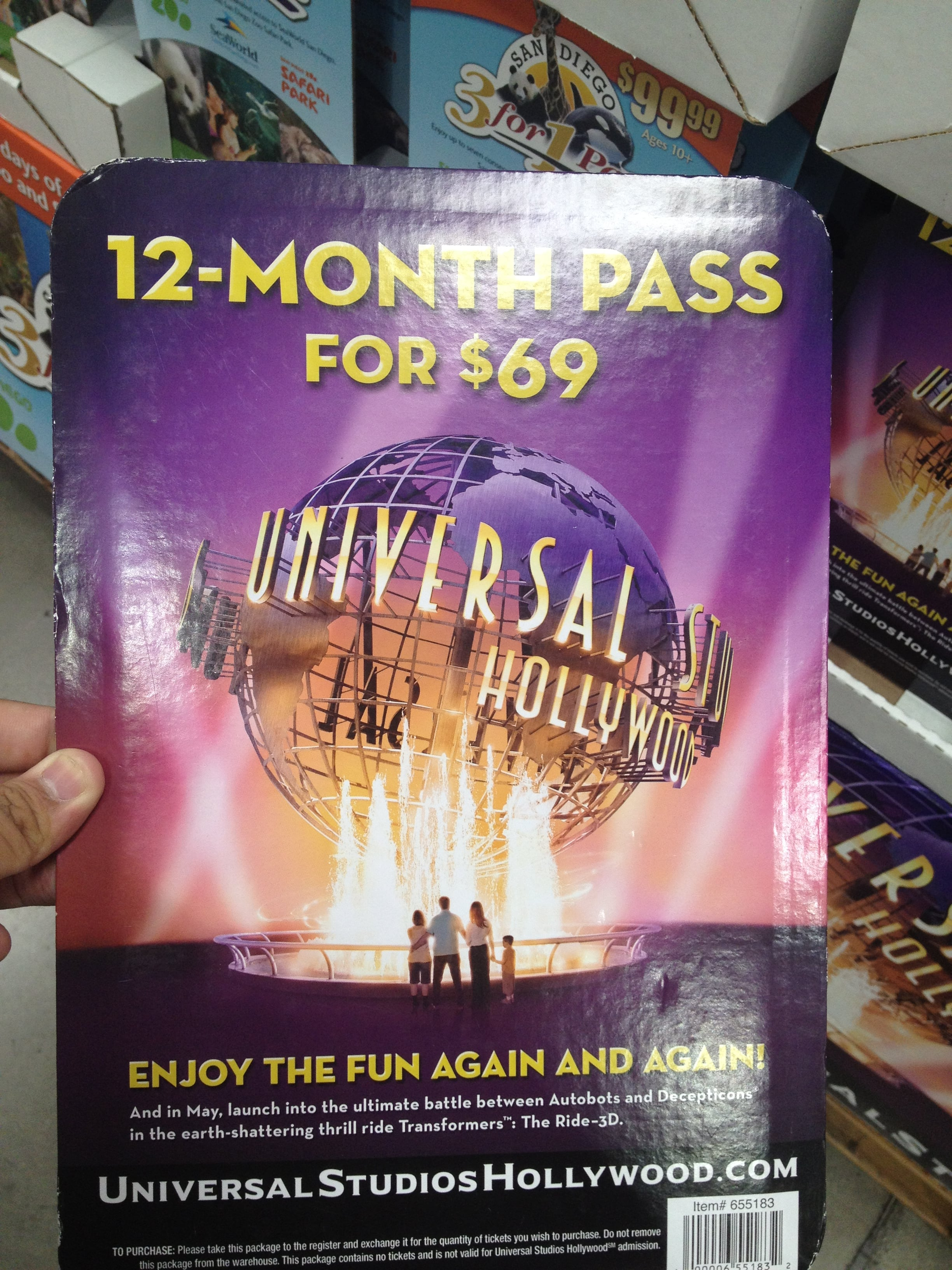 Universal Studios Coupons. All Offers (10) Codes (1) Product Deals (1) In-Store & Ads ; Annual Passes as low as $ Verified Used 11 Times in the Last Week. Get Offer. SALE Search for Hotels, Tickets & Packages Expired and Not Verified Universal Studios Promo Codes & Offers.