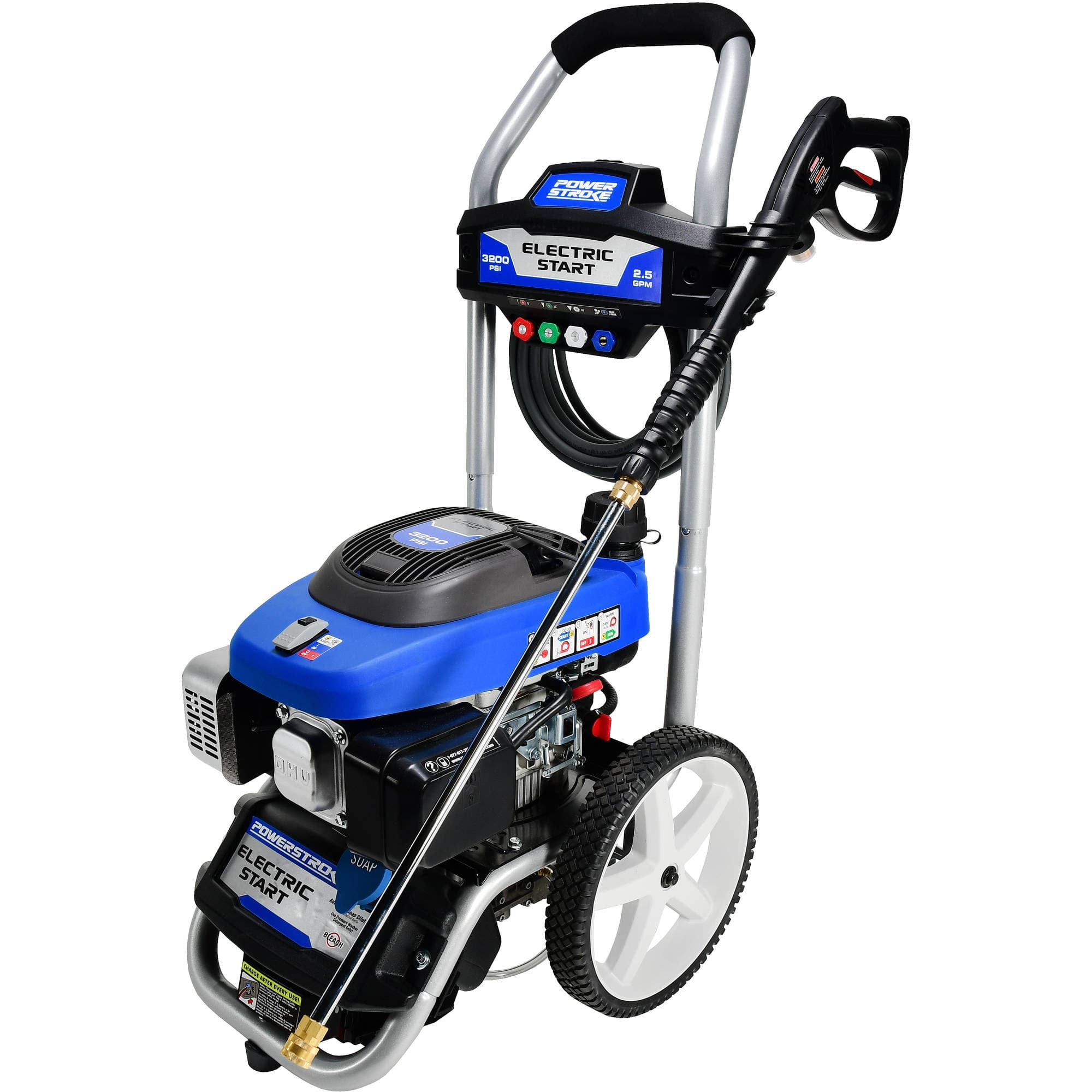 Powerstroke Electric Start 3200PSI Gas Pressure Washer - Walmart -  $79 - YMMV