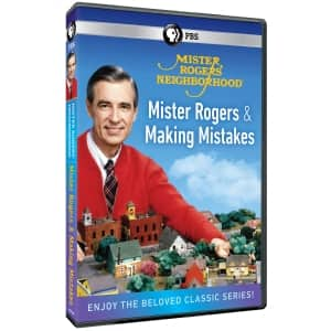 Mister Rogers' Neighborhood: Mister Rogers and Making Mistakes DVD $6.75