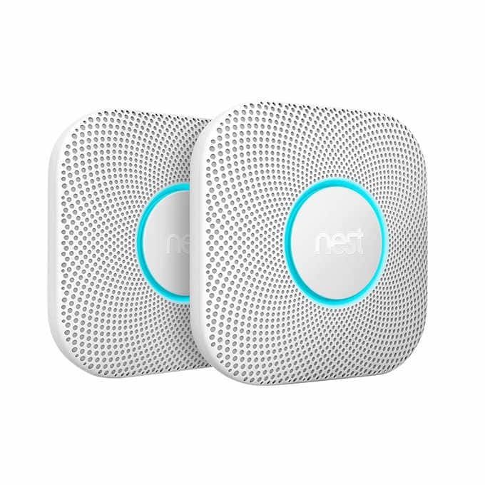 Costco Members: 2-Pk Nest Protect Wired or Battery Powered Smoke Detector $169.99 + Free S/H through 12-4-19