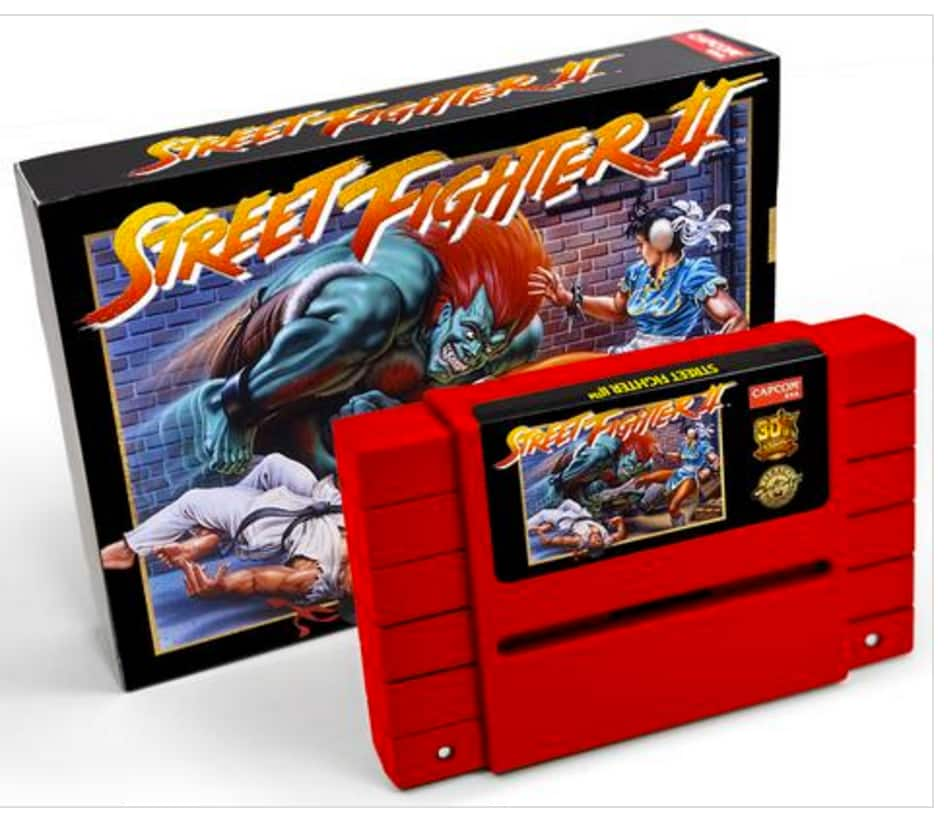 Street Fighter II (30th Anniversary Edition) $100 on SNES Cartridge
