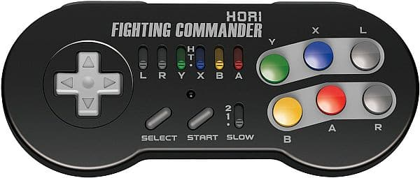 HORI Super SNES Classic Edition Fighting Commander Wireless Controller Pad Officially Licensed by Nintendo $24.99 + FS (Pre-order)
