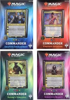 magic the gathering commander set $103.95