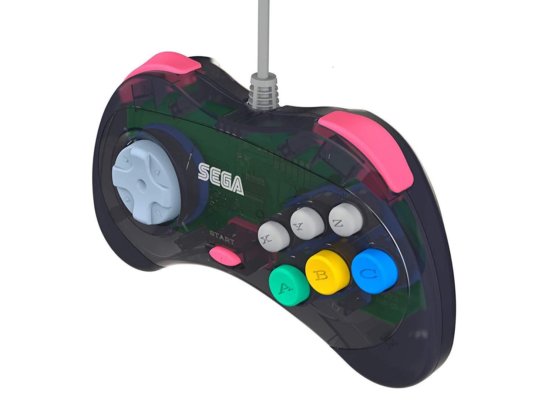 Retro-Bit Official Sega Saturn USB Controller Pad for Sega