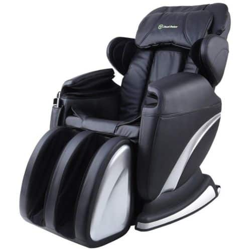 RealRelax Full Body Shiatsu Massage Chair Recliner Zero Gravity Foot Rest Heat - $559.99