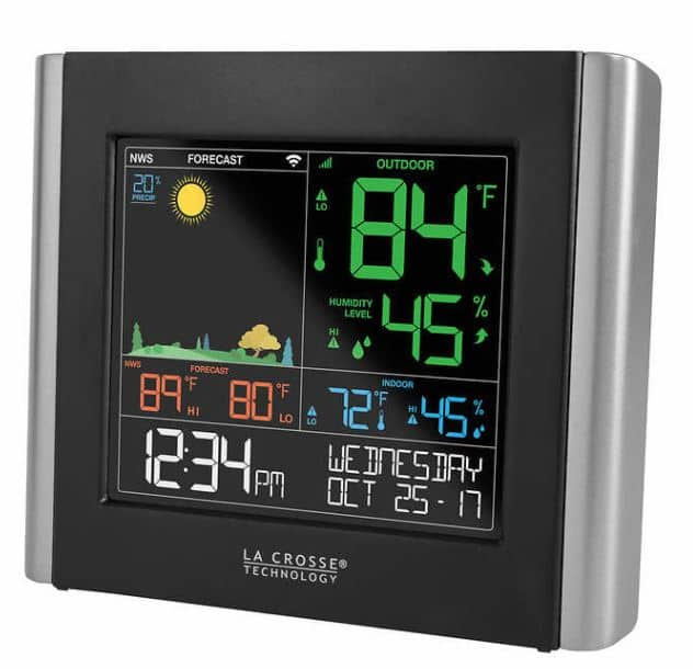 Costco.com has La Crosse Weather Station with Remote Sensor for just $29.99