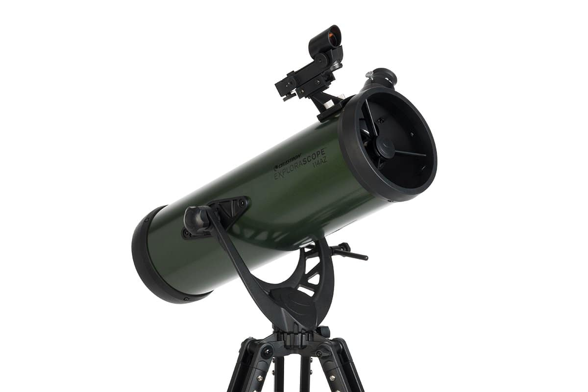 Celestron ExploraScope 22103 114AZ Reflector Telescope - $90 at Amazon $89.71