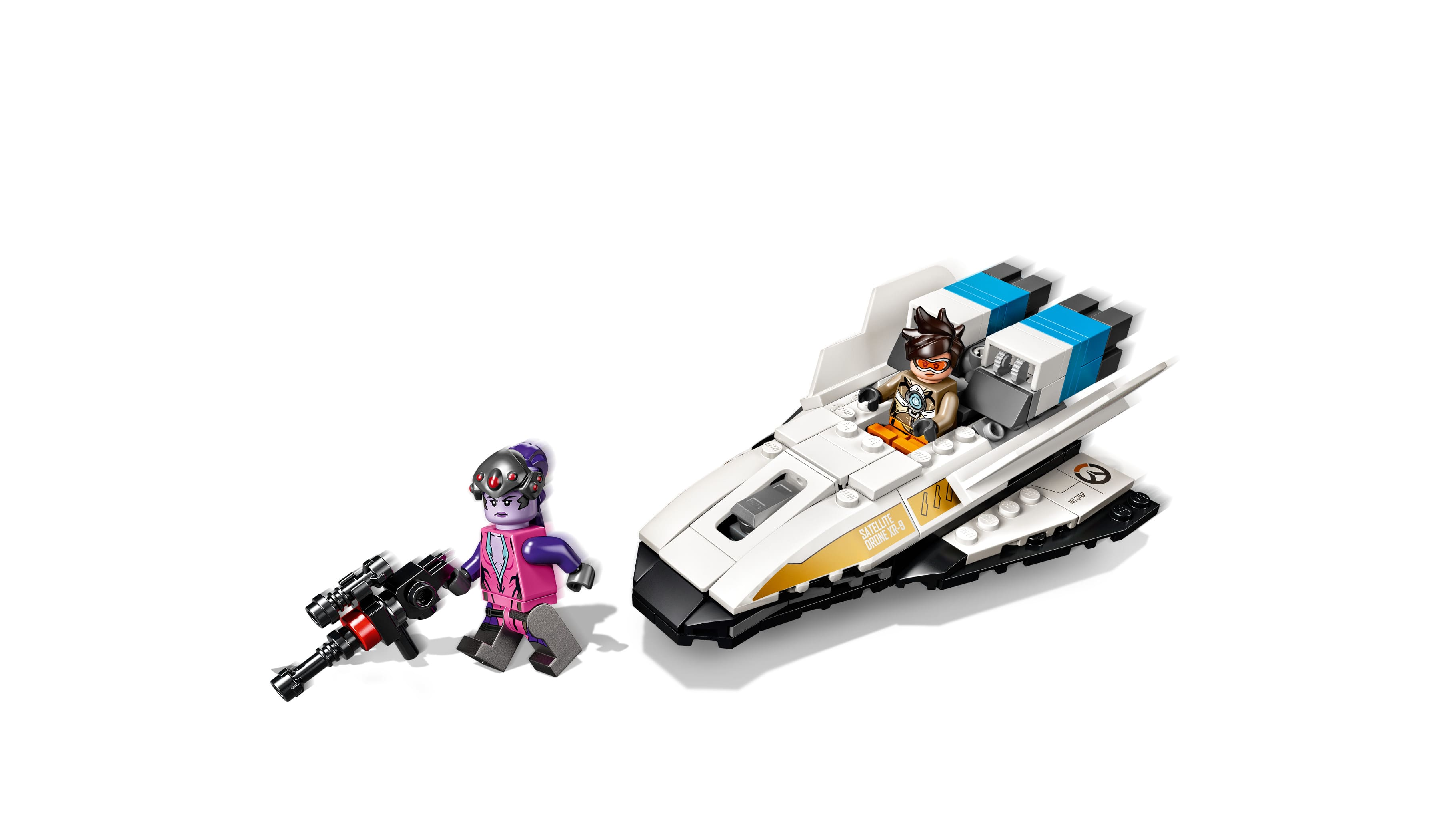 SOME Lego Overwatch models are on sale - Tracer vs Widowmaker at 9.99 & Hanzo vs Genji $11.99