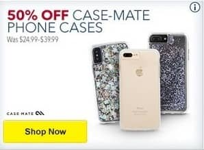 Best Buy Black Friday: Case-Mate Phone Cases - 50% Off