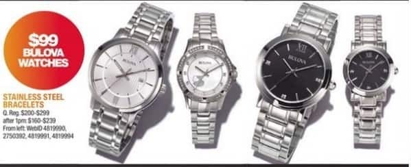 Macy's Black Friday: Stainless Steel Bracelets for $99.00