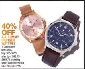 Macy's Black Friday: All Tommy Hilfiger Watches - 40% Off