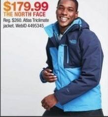 Macy's Black Friday: The North Face Atlas Trickmate Jacket for $179.99
