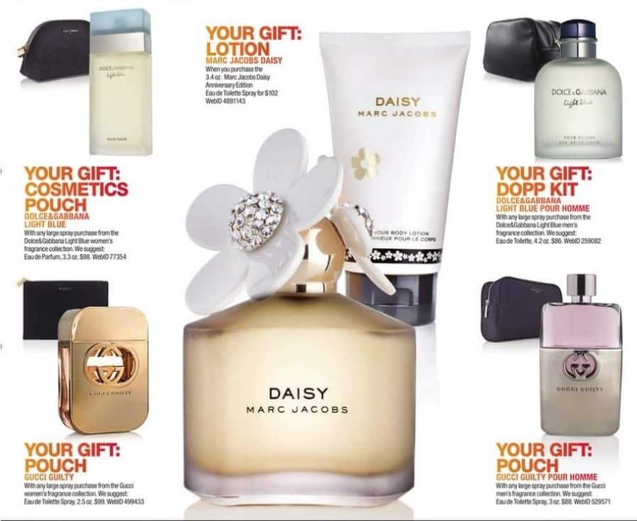 Macy's Black Friday: Cosmetics Pouch With Any Large Spray Purchase From The Dolce&Gabbana Light Blue Women's Fragrance Collection for Free