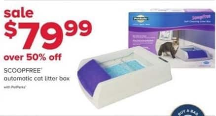 PetSmart Black Friday: Scoopfree Automatic Cat Litter Box - w/ PetPerks for $79.99