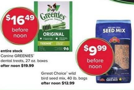 PetSmart Black Friday: Greenies Canine Dental Treats , 27 oz Boxes for $16.49