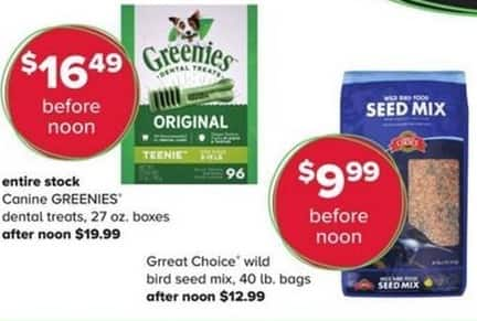 PetSmart Black Friday: Grreat Choice Wild Bird Seed Mix, 40 lb. Bags for $9.99