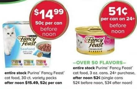 PetSmart Black Friday: Purina Fancy Feast Cat Food, 30 ct. Variety Packs for $14.99