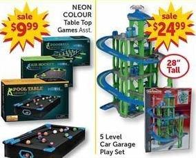 Freds Black Friday: 5 Level Car Garage Play Set for $24.99