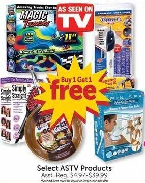 Freds Black Friday: Select As Seen on TV Products - B1G1 Free