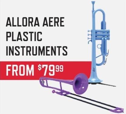 Music & Arts Black Friday: Allora Aere Plastic Instruments for $79.99