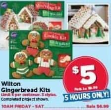 AC Moore Black Friday: Wilton Gingerbread Kits for $5.00