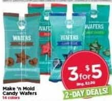 AC Moore Black Friday: ( 3 ) Make 'N Mold Candy Wafers for $5.00