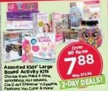 AC Moore Black Friday: Assorted Kids' Large Boxed Activity Kits for $7.88