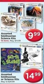 AC Moore Black Friday: Assorted Smithsonian Science Kits for $9.99 - $14.99