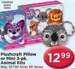 AC Moore Black Friday: Plushcraft Pillow or Mini 3-pk Animal Kits for $12.99