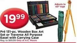 Ac Moore Black Friday Pre 131 Pc Wooden Box Art Set Or Traverse