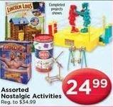 AC Moore Black Friday: Lincoln Logs, Rock Em Sock Em Robots and More Asst. Nostalgic Activities for $24.99