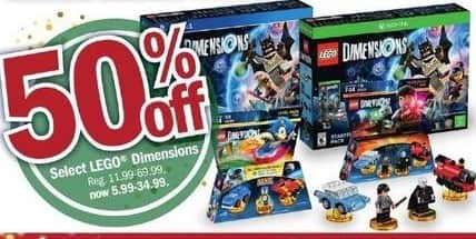 Meijer Black Friday: Select Lego Dimensions - 50% Off