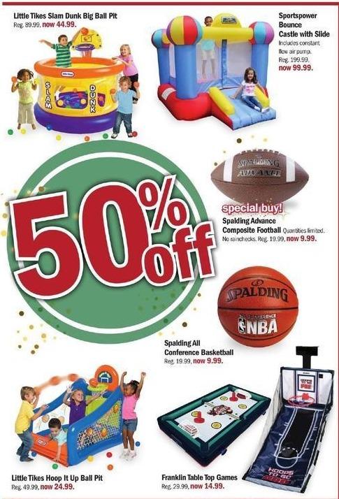 Meijer Black Friday: Sportspower Bounce Castle w/ Slide for $99.99