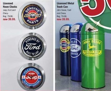 Meijer Black Friday: Licensed Metal Trash Cans for $39.99