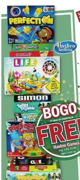 Meijer Black Friday: Simon Says, The Game of Life, Toilet Trouble, Clue and More Hasbro Games - B1G1 Free