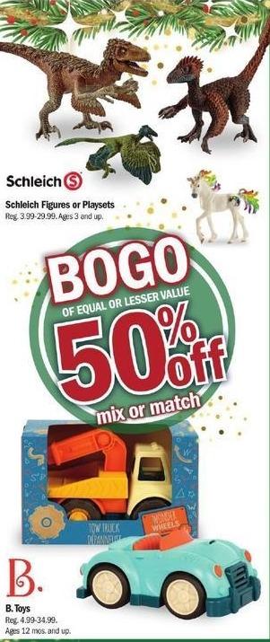 Meijer Black Friday: Scheich Figures or Playsets - B1G1 50% Off