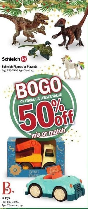 Meijer Black Friday: B. Toys Mix or Match - 50% Off