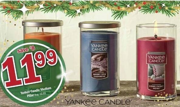 Meijer Black Friday: Yankee Candle Medium for $11.99