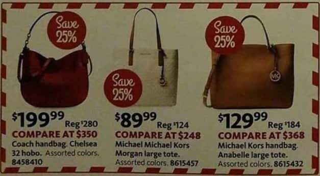 AAFES Black Friday: Coach Handbag Chelsea Style for $199.99