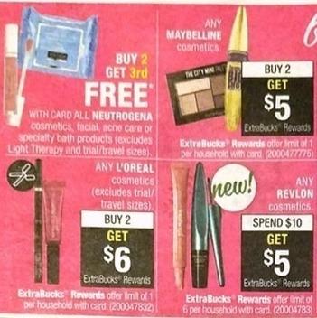 CVS Black Friday: Neutrogena Cosmetics, Facial, Acne Care or Speciality Bath Products - B2G3rd Free