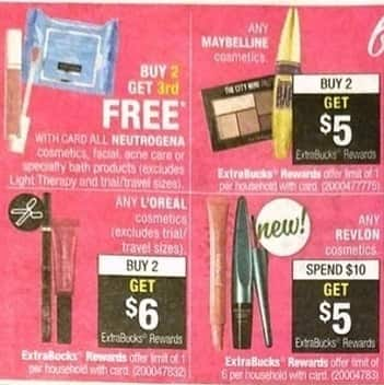 CVS Black Friday: Any Revlon Cosmetics Purchase $10 or More - Get $5 in ECBs