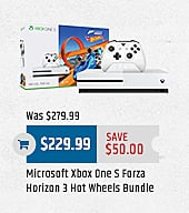 MacMall Black Friday: Microsoft Xbox One S Forza Horizon 3 Hot Wheels Bundle for $229.99