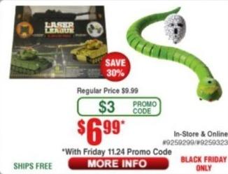 Frys Black Friday: Laser League for $6.99