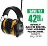 Blains Farm Fleet Black Friday: DeWalt AM/FM Digital Tune Hearing Protection for $42.99