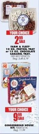Blains Farm Fleet Black Friday: Gingerbread House Kit for $9.99