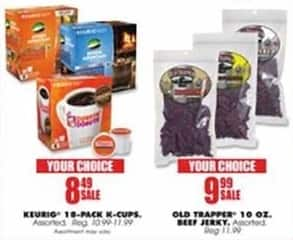 Blains Farm Fleet Black Friday: Old Trapper 10 Oz. Beef Jerky for $9.99