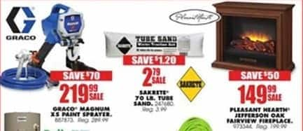 Blains Farm Fleet Black Friday: Sakrete 70 LB. Tube Sand for $2.79