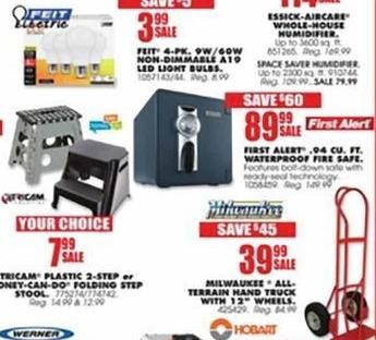 "Blains Farm Fleet Black Friday: Milwaukee All Terrain Hand Truck w/ 12"" Wheels for $39.99"