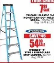 Blains Farm Fleet Black Friday: Werner 7' Type 1 Fiberglass Step Ladder for $54.99