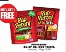 Blains Farm Fleet Black Friday: Pupperoni 25-27 Oz. Dog Treats - B1G1 Free